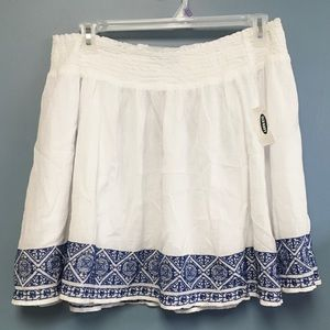 2/$20 Old Navy Jute Embroidered Skirt XL NWT